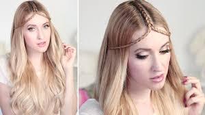 Tuto Coiffure D T Tresse Diad Me Tiare Pour Cheveux Mi Long
