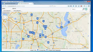 create a map easily map multiple locations from excel data