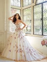 pink wedding gowns. Pretty in Pink Beautiful Pink Wedding Dresses