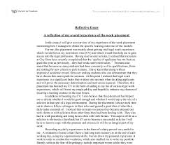 reflection in practice essay 1 reflection on a significant incident from practice introduction the