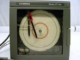 Omega Ct1700 Circular Chart Recorder