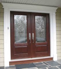 double front door with sidelights. Exquisite Front Porch Decoration Using Various House Doors : Extraordinary Light Double Door With Sidelights