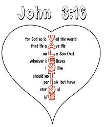Valentine Coloring Pages Church With John 3 16 Heart Coloring Pages