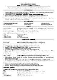 electronics engineer resume foramt electronics engineer resume foramt mohammed irshad s k mobile 9710505193638 electronic engineer resume sample