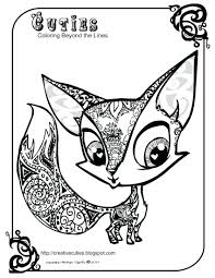 Cute Little Animals Coloring Pages Big Baby Farm Zoo Cute Baby ...
