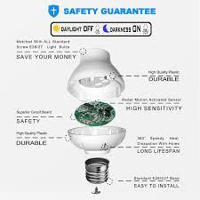 Light Bulb Motion Sensor Adapter Details About Motion Sensor Light Socket Radar Motion Sensor Adapter E26 E27 To E26 E27 Lamp