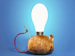 Image result for Did You Know That Using A Potato You Can Light A Room For A Month..
