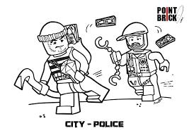 Disegni Da Colorare Lego City Polizia E Pompieri Tee Shirt