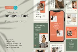 This instagram fonts generator ? Mutiara Instagram Canva Template Graphic By Peterdraw Creative Fabrica