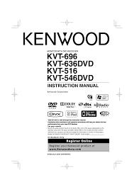 kenwood kvt 696 user manual 100 pages also for kvt 636dvd kenwood kvt 696 user manual 100 pages also for kvt 636dvd kvt 516