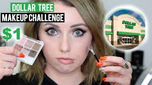dollar tree makeup challenge full face affordable makeup first impressions you