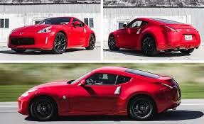 nissan z coupe test review car and driver