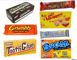 chocolate bar wrappers literal candy bar wrappers by monkey3d69 meme center