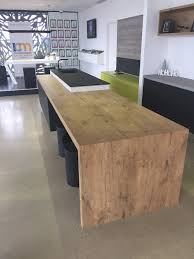 6 Duropal Pale Lancelot Oak Laminate Used For This Display Benchtop In  Melbourne CBD Laminate Benchtop