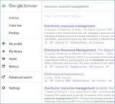 Google Scholar Search North West University Libraries
