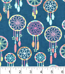 Brother Dream Catcher Sewing Machine Snuggle Flannel Fabric 100Multi Color Dreamcatcher JOANN 88