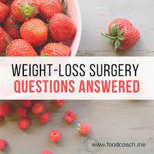 quinoa weight loss surgery questions