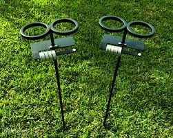 skolders ground stakes set of 2 outdoor game score keeper