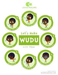 Lets Learn Wudu Poster Adam Green