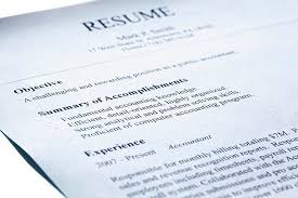 Objective Summary For Resumes It Technician Resume Example With Summary Statement