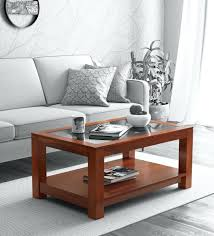 mckenzy solid wood coffee table