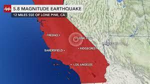 5.8 magnitude earthquake strikes ...