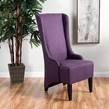sheldon plum fabric dining chair