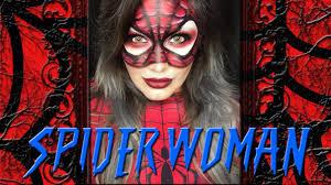 spider woman makeup tutorial