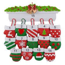 Großhandel Personalisierte Polyresin Glänzend Christbaumschmuck Mantel Handschuhe Familie Von 14 Home Decoration Weihnachtsgeschenk Von Vtopornaments