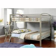 Metallic Bedroom Furniture Furniture Of America Cm Bk1037 Lovia Metal Bunk Bed The Mine
