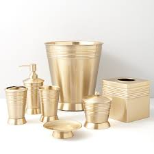 Brass Bathroom Accessories New Metallic Bead Satin Brass By Paradigm Trends Bath