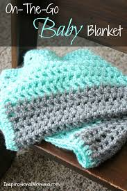 Crochet Baby Blanket Patterns For Beginners Fascinating OnTheGo Crochet Baby Blanket