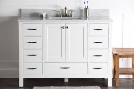 white bathroom vanities with drawers. Abigail 48\ White Bathroom Vanities With Drawers T