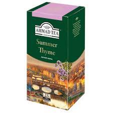 <b>Чай</b> черный <b>Ahmad Tea summer</b> thyme 25 пакетиков - отзывы ...