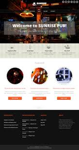 Wp Restaurant Themes Sunrise Wordpress Theme Download It For Free From Site5