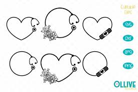 Browse 300.000+ svg vectors and icons. Nurse Monogram Svg Bundle 546423 Cut Files Design Bundles