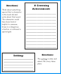 Extra Large Castle Book Report Projects  templates  worksheets     Castle Book Report Project First Draft Creative Writing Worksheets