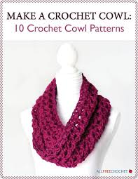 Free Crochet Cowl Patterns