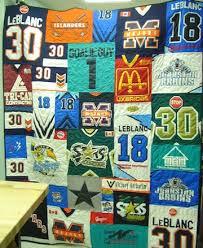Hockey Jersey Quilts & Hockey jersey quilt Adamdwight.com