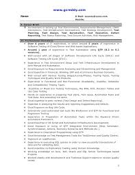 30 Fresh Sample Resume For Software Test Engineer With Experience At