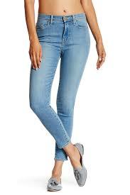 Fidelity Jeans Size Chart Fidelity Denim Gwen Crop High Super Skinny Jean Nordstrom Rack