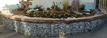 gabion basket curved wall how to