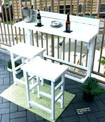 narrow balcony furniture. Narrow Balcony Furniture Patio Railing Table Outdoor Dining Set Bar . N