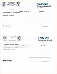 Doctors Note Template Pdf Staggering Fake Doctors Note Template Ulyssesroom