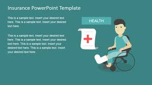 Medical Power Point Backgrounds Insurance Powerpoint Template