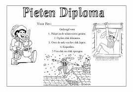 Pietendiploma Thema Sinterklaas School