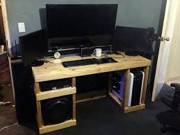 Popular of Homemade Computer Desk Ideas Magnificent Home Office Furniture  Ideas with 10 Diy Computer Desk Design Ideas Newnist