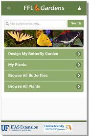 garden app. FFL Butterfly Gardens App Garden