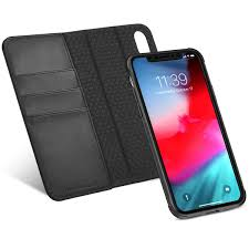 tucch iphone xr leather wallet case iphone xr detachable case 2in1 folio flip cover with rfid blocking kickstand credit card slots magnetic closure