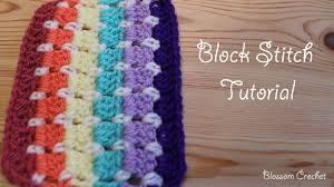 Block Stitch Crochet Pattern Amazing Decorating Ideas